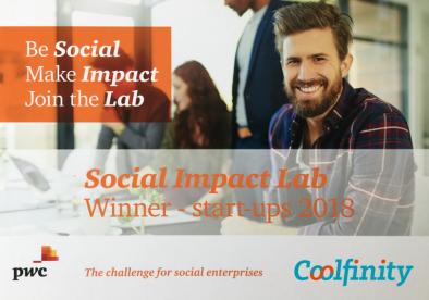 PWC social impact lab Coolfinity