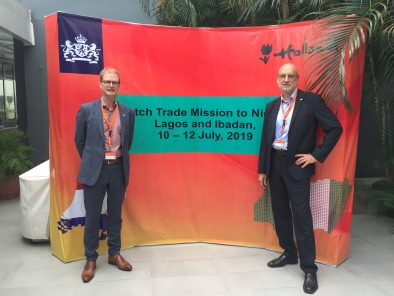 Coolfinity in Nigeria at the Dutch trade mission